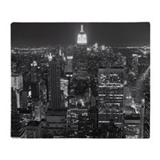 New York City at Night. Throw Blanket