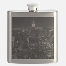 New York City at Night. Flask