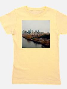 Philadelphia Skyline. Girl's Tee