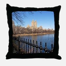 San Remo, Central Park, New York. Throw Pillow