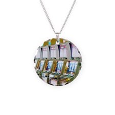 Row of Slot Machines Necklace