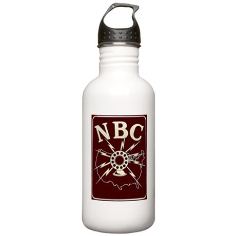 NBC Red Network logo Stainless Water Bottle 1.0L