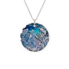 Rivers meeting the sea viewe Necklace