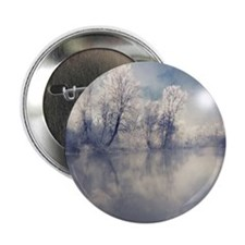 "Reflection at lake. 2.25"" Button"