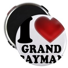 I Heart Grand Cayman Magnet