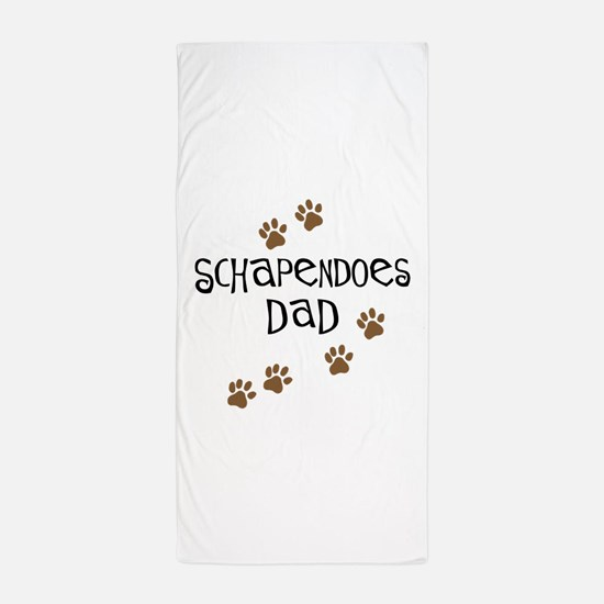 Schapendoes Dad Beach Towel
