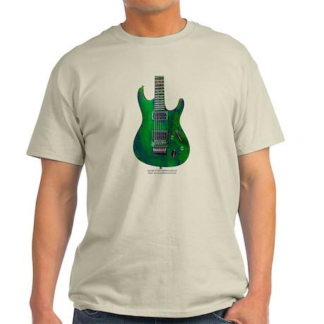 """Enamel Green"" Guitar Light T-Shirt"