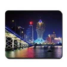 The most famous area in Macau. Mousepad