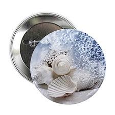 "Seashells washed ashore 2.25"" Button"