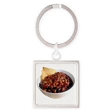 chili Square Keychain