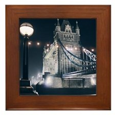 Tower Bridge, London Framed Tile