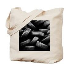 Stack of old tires Tote Bag