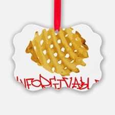WAFFLE FRIES Ornament