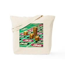 Stacks of Poker Chips Tote Bag