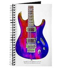 """Blue Flame"" Guitar Journal"