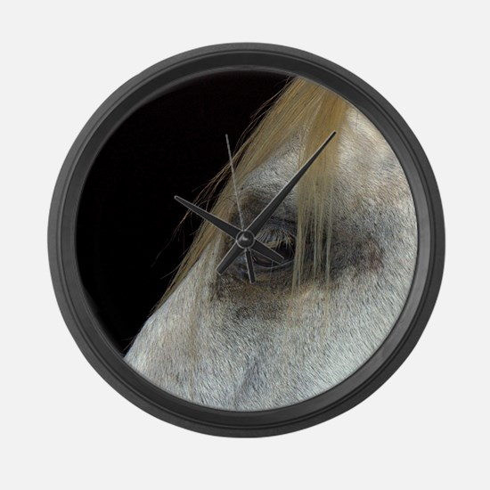 White Horse. Large Wall Clock