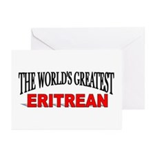 """""""The World's Greatest Eritrean"""" Greeting Cards (Pa"""