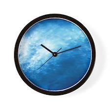 Wave, full frame Wall Clock