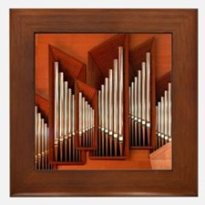 View of right section of organ of Bilb Framed Tile