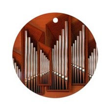 View of right section of organ of B Round Ornament