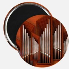 View of right section of organ of Bilbao Ja Magnet