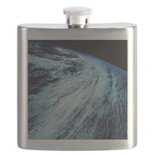 Storm Patterns on Earth Flask