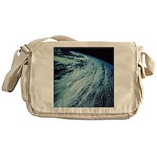 Storm Patterns on Earth Messenger Bag
