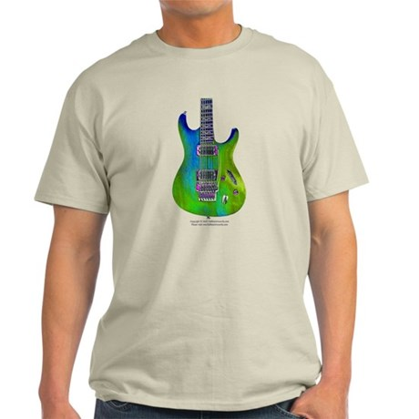 """""""Foil Green"""" Guitar Light T-Shirt"""