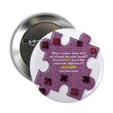 "Autism Have A Heart 2.25"" Button"