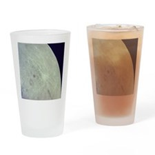 Surface of the Moon Drinking Glass
