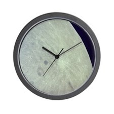 Surface of the Moon Wall Clock