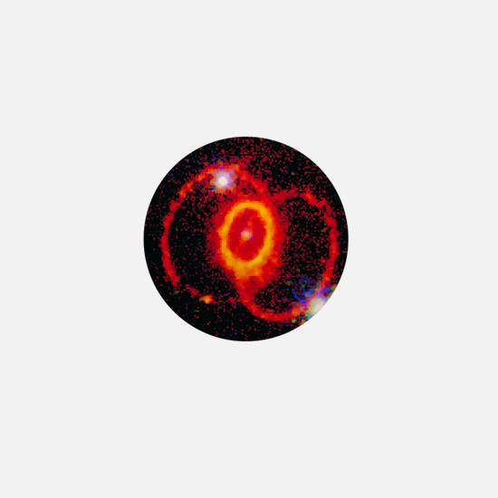 Supernova 1987a rings Mini Button