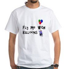 Fly Me With Baloons T-Shirt