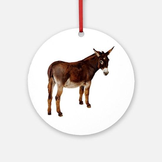 donkey Round Ornament