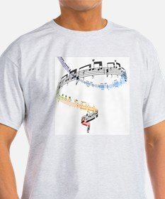 The music is based on Fanataisie (Op T-Shirt