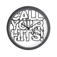Call Your Hits - Airsoft Wall Clock