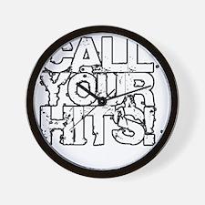 Call Your Hits - Airsoft Wall Clock
