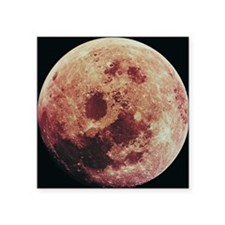 "The Moon Square Sticker 3"" x 3"""