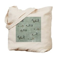 Birds on Branches Tote Bag