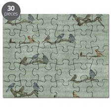 Birds on Branches Puzzle