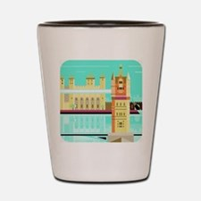 Tower Bridge and the tower of London, U Shot Glass