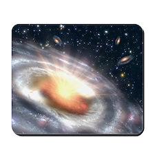 Bursting Black Hole Mousepad