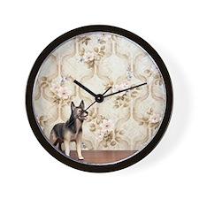 Toy German Shepherd dog Wall Clock
