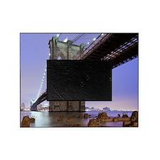 Underneath Brooklyn bridge, New York Picture Frame