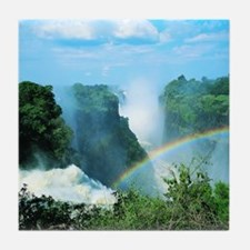 Victoria Falls, Zimbabwe Tile Coaster