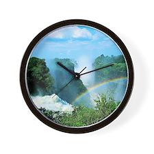Victoria Falls, Zimbabwe Wall Clock