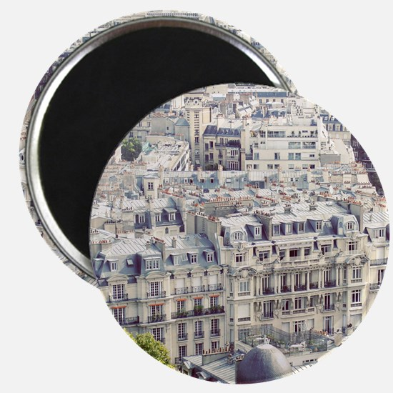 View of roofs of Paris. Magnet