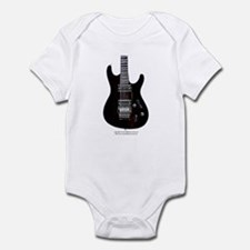 """""""GlowingEdges"""" Guitar Infant Bodysuit"""