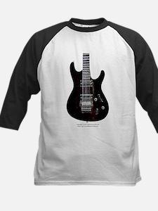 """GlowingEdges"" Guitar Kids Baseball Jersey"