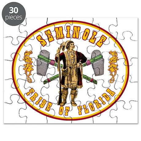 Vintage Seminole Tribe of Florida. Puzzle